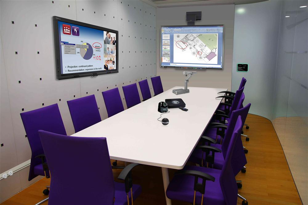 Interactive Display Solutions Board Training Room